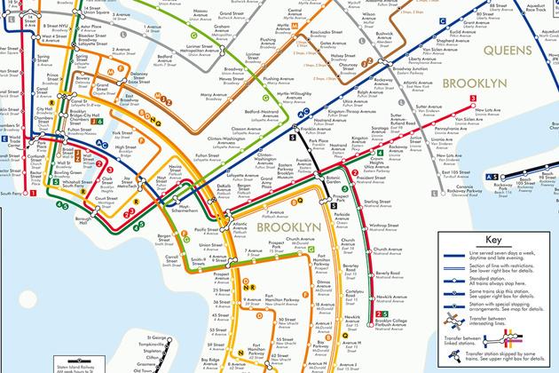 Staten Island Ny Subway Map